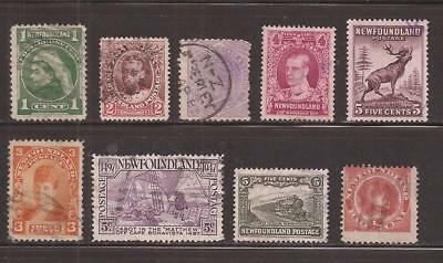Newfoundland  -  Lot Of Stamps