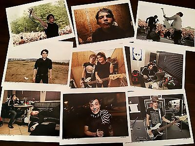 My Chemical Romance - Tour Collection - Limited Edition-Lot of 20 Signed Prints