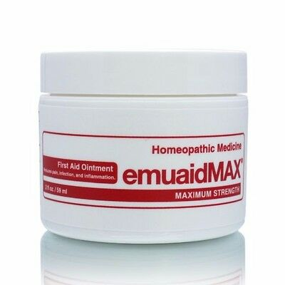 EmuaidMAX First Aid Ointment 2 oz  (59 ml ) - BRAND NEW, SEALED
