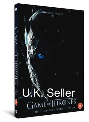 Brand New Sealed Game Of Thrones 7 Series Season Complete DVD UK Version P&P