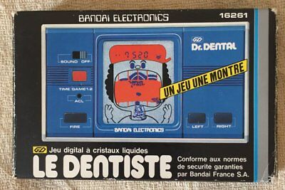 "LE DENTISTE ""DR. DENTAL"" BANDAI ELECTRONICS Jeu Electronique"