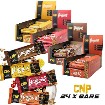 CNP Pro-Flapjack - High Protein Rolled Oats Protein Bars Low Sugar 24 Bars