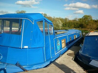 60ft x 10ft Aqualine Widebeam 2006 - 2 Bedroom Canal & River Boat