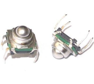 Spherical actuator detect switch SPST N.O. 7.4x7.4mm 200g KSJ0M211 [QTY=2pcs]