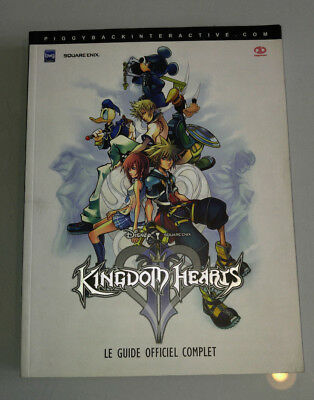 Guide officiel Kingdom Hearts 2 Playstation 2 PS2