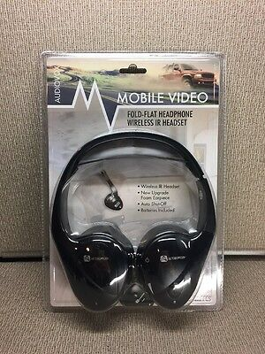 MUS38 Audiovox IRFFCS Mobile Video Headphones, NEW