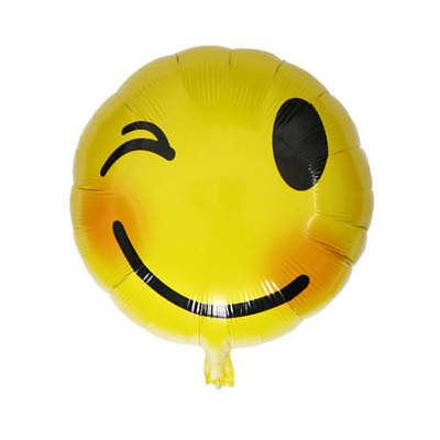 Emoji Foil Balloon Wedding Birthday Party Emotional Smile Face Decoration