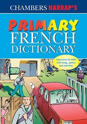Primary French Dictionary CD-ROM Learn Guide Childrens Childs School Key Stage 2