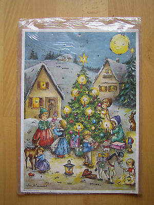 Alter Adventskalender Lore Hummel unbenutzt in OVP West Germany NR. 031