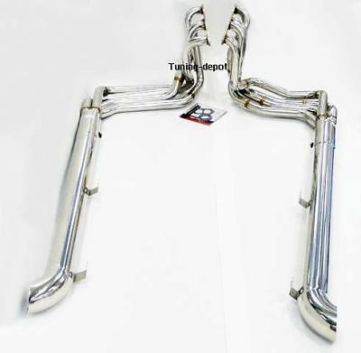 OBX Exhaust Header For 1965 To 1982 Corvette C2 C3 Stingray Muffled Small Block