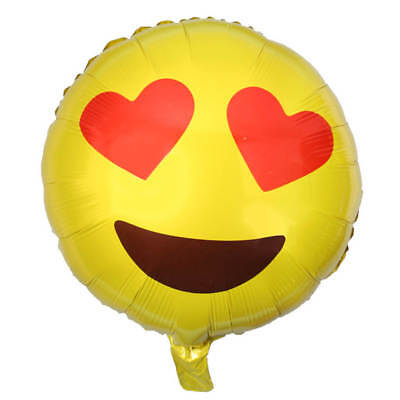 Balloon Wedding Birthday Party Emotional Smile Face Decoration Emoji Foil
