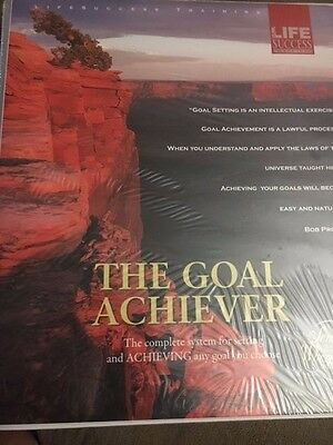 The Goal Achiever By Bob Proctor 8 CD Set Workbook (Retail $195)-NEW! Last one..
