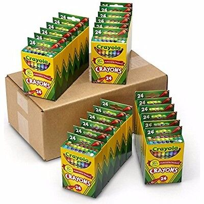 Crayola Crayons Preferred By Teachers! Last 35% Longer (Pack of 24; 24-Count)