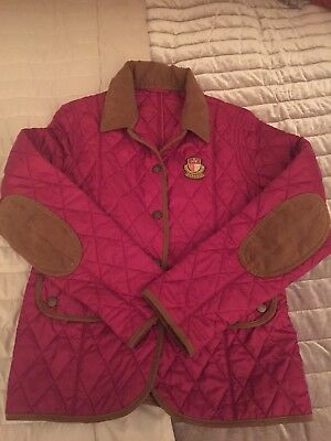 Quilted Barbour Girls Jacket Size 10-11yo