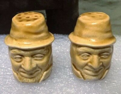Staffordshire Pottery 'Mr Quilp' Salt n Pepper - Dickens Old curiosity shop