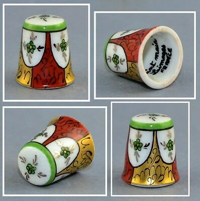 Limoges France Hand Painted Thimble