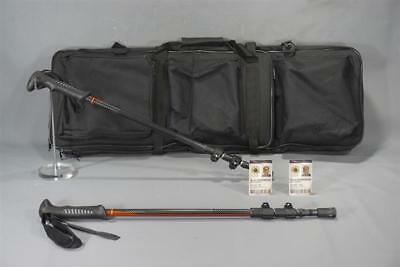 The Foreigner Sean Morrison Production Used Long Bag & Walking Stick Set