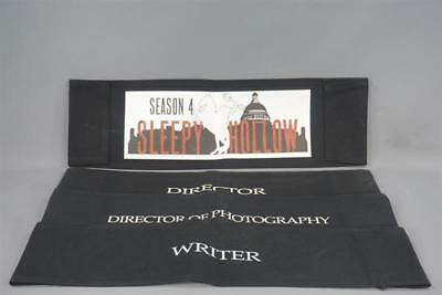 Sleepy Hollow Production Used Director & Writer Chair Back Set Ss 4