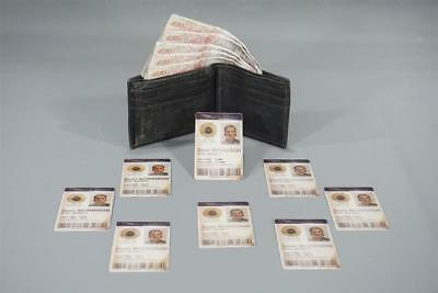 The Foreigner Screen Used Walllet & Id Card Set