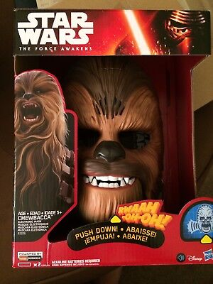 New Hasbro STAR WARS CHEWBACCA  Electronic mask