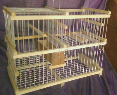 Hunting : Trap Cage for Birds with Repeating action // Catch Birds Softly