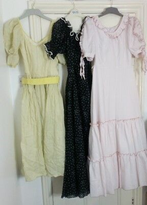 Job lot wholesale bundle vintage womens clothes dresses costume resale 70s 80s