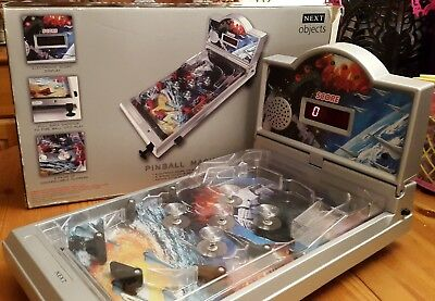 NEXT  TABLE TOP PINBALL GAME LIGHTS SOUNDS And SCORE