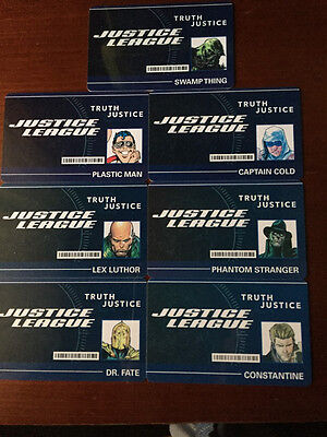 Heroclix DC ID Cards Convention 2016