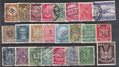 Germany - small collection third reich stamps