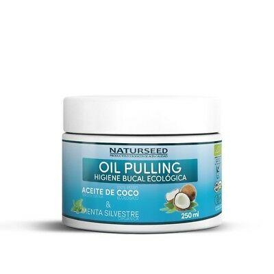 Oil Pulling 200ml- Natural Mouthwash - Coconut Oil Organic Extra Virgin...
