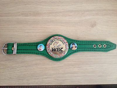 Boxing WBC Wrist Bracelet Mini. Brand New.