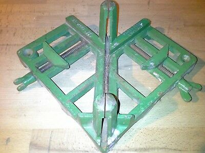 Large Marples Woodworking Mitre Clamp Vintage Heavy Duty Miter Cramp To Clear