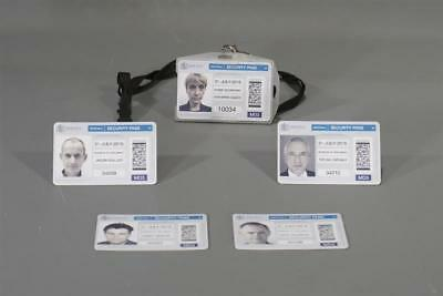 The Foreigner Screen Used Whitehall Parliment & Home Secretary Id Set