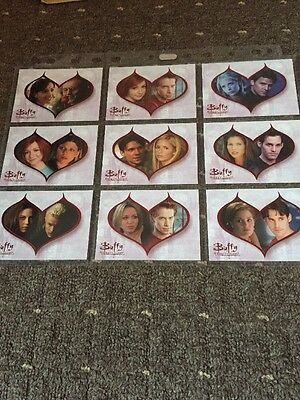 Buffy The Vampire Slayer Story So Far 9 Card Chase Set Past Lovers Complete