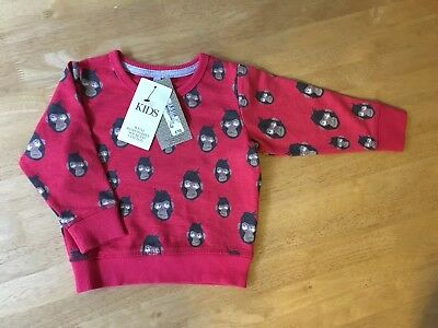 Marks and Spencers Monkey Jumper 12-18 Months