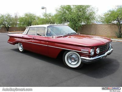 1960 Oldsmobile Eighty Eight  1960 Red!