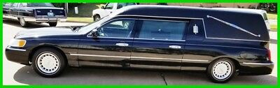 2000 Lincoln Town Car Executive 2000 Lincoln Eureka Funeral Hearse