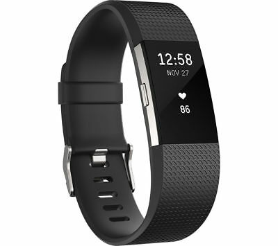 Fitbit Charge 2 Fitness Tracker (Black)