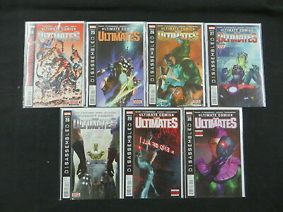 Ultimate Comics The Ultimates #24-30 7 Iss Avengers  Reconstruction Disassembled