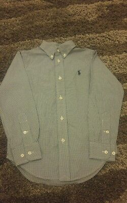 Genuine Boys Ralph Lauren Shirt. Age 4 Years. Immaculate Condition.