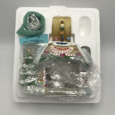 "NEW Hawthorne Village-Precious Moments ""Santa's House"" Building Figurine"