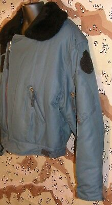 RCAF Winter Flight Jacket RARE!  Size 7044 - Reg/Large EXC Condition Very Cool!
