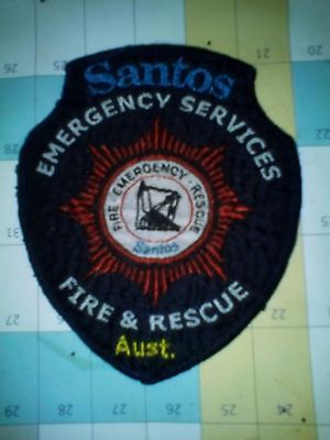 Santos Fire Rescue Emergency Services police fire