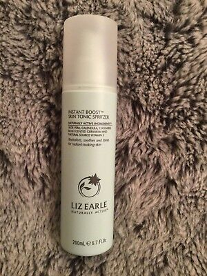 Liz Earle Instant boost Skin Tonic Spritzer 200ml New And Unused