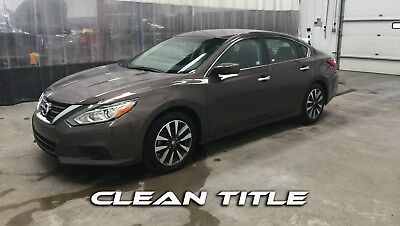2017 Nissan Altima SV SEDAN 4 DOOR Nissan Altima SV, 2.5L, CLEAN TITLE, Repairable Rebuildable #112156