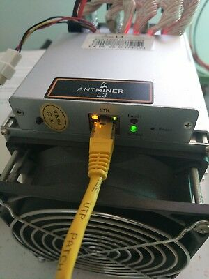 ANTMINER L3 LITECOIN MINER 250MH/s With PSU IN HAND! SCRYPT MINER! Bitmain L3