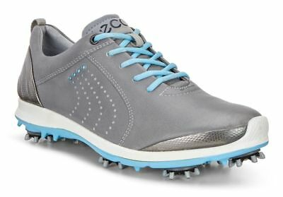 New ECCO BIOM G2 Golf Shoe Womens Wild Dove/Sky Blue Choose a Size
