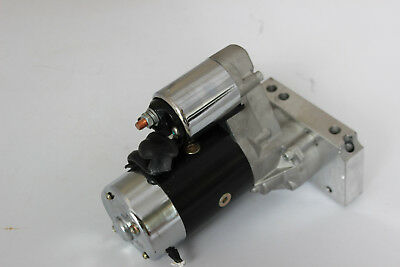 Chev Sb Hi Torque Black Starter Motor 3 Hp Small ,large Fly, Wheel Used