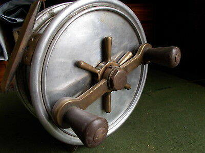 Hardy Vintage Fortuna Seven Inch Game Fishing Reel.... Andreas Patent