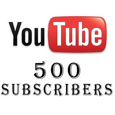 500 Non drop real Human Youtube_Subs